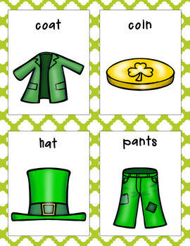 St. Patrick's Day Parts of Speech Literacy Activity
