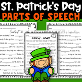 St. Patrick's Day Parts of Speech Mad Libs
