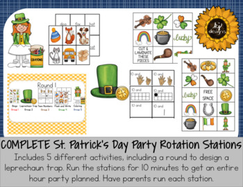 St. Patrick's Day Party All-In-One Set
