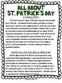 St. Patrick's Day Passage (Upper Elementary)