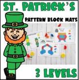 St. Patrick's Day Pattern Block Mats