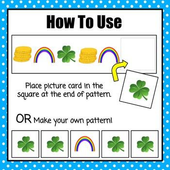 Patterns: St. Patrick's Day Pattern Cards
