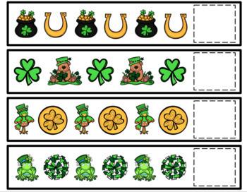 St. Patrick's Day Pattern Cards