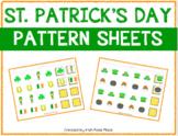 St. Patrick's Day Pattern Mats