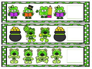 St. Patrick's Day Patterning Activity
