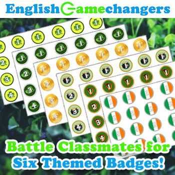St. Patrick's Day Peer Review Badge Battle Game: Any Level, Any Content