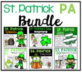 St. Patrick's Day Phonemic Awareness Bundle