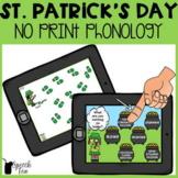 St. Patrick's Day Phonology NO PRINT