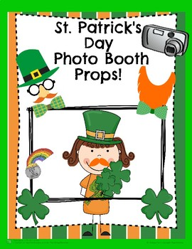St. Patrick's Day Photo Booth Props!