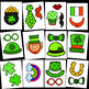 St. Patrick's Day Photo Booth Props {Made by Creative Clips Clipart}