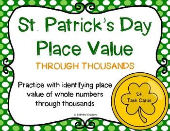 Place Value {St. Patrick's Day}