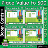 St. Patrick's Day Place Value Boom Card Bundle - To 30, 50