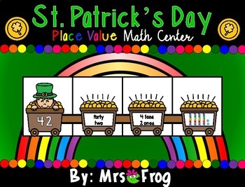St. Patrick's Day Place Value Math Center