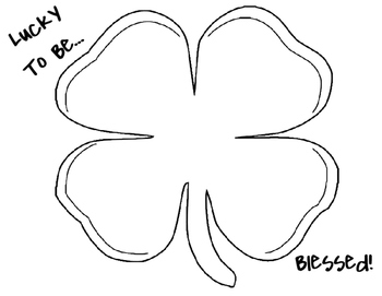 St. Patrick's Day Placemat