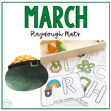 St. Patrick's Day Play Dough Mats | Fine Motor Activity and Practice