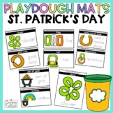 St. Patrick's Day Play Dough Mats St. Patrick's Day Center