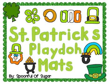 St. Patrick's Day Play-doh Mats