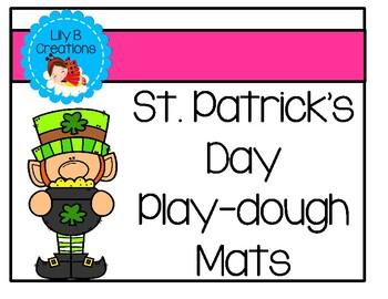 St. Patrick's Day Play-dough Mats