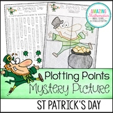 St Patricks Day Math Activity Plotting Points - Mystery Picture