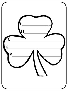 St. Patrick's Day Poem St. Patrick's Day Poetry St. Patrick's Day Acrostic Poem