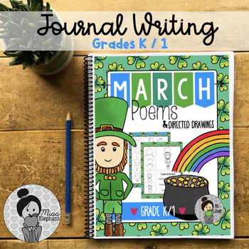 St. Patrick's Day Poems and Directed Drawing Spring March