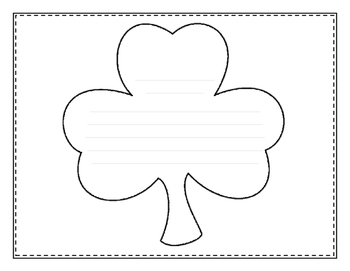 St. Patrick's Day Poetry {No Prep}