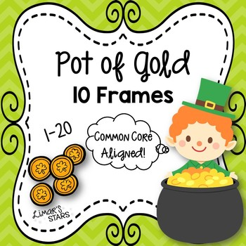 St. Patrick's Day Pot of Gold 10 Frames