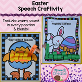 Easter Speech Therapy Crafts