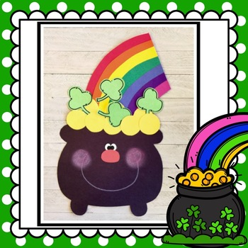 St. Patrick's Day Pot of Gold at the end of the Rainbow: March Craft