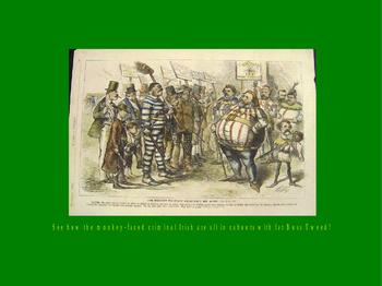 St. Patrick's Day PowerPoint - Anti-Irish Propaganda