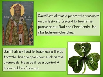 St. Patrick's Day PowerPoint with Interactive Quiz & Printable Awards