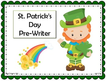St. Patrick's Day Pre-Writer for Beginning Writers