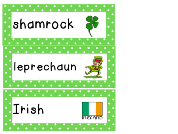 St. Patrick's Day Pre-k - Kindergarten Full Literacy and Math Activity Pack