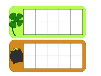 St, Patrick's Day Pre-k & Kindergarten Literacy and Math activities