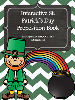 St. Patrick's Day Preposition Book Activity