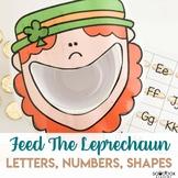 St. Patrick's Day Preschool Activity - Feed the Leprechaun