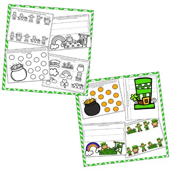 St. Patrick's Day Preschool Bundle