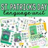 St. Patrick's Day Preschool Language Unit