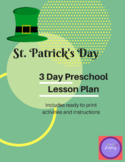 St. Patrick's Day Preschool Lesson Plans and Activities