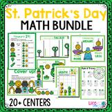 St. Patrick's Day Preschool Math Activities: 20+ Centers