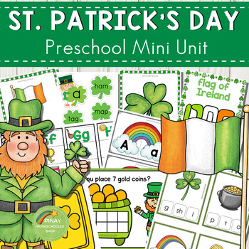 St. Patrick's Day Preschool Unit (Math and Literacy Activities)