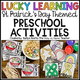 St. Patrick's Day Preschool Math and Literacy Centers