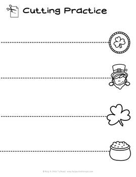 St. Patrick's Day Preschool Skills Pages