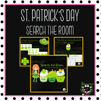St. Patrick's Day Preview of Search the Room