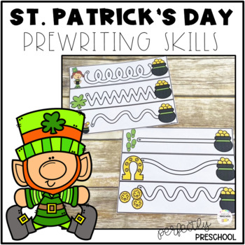 St. Patrick's Day Prewriting Skills