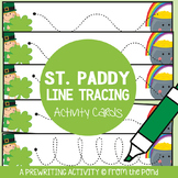 St Patrick's Day Prewriting Write n Wipe Cards