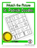 St. Patrick's Day - Print, Answer & Color Worksheets - 5 Pages