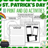St. Patrick's Day Activities US NZ