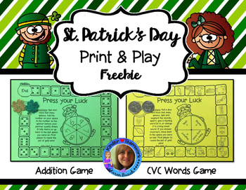 St. Patrick's Day Print and Play Games