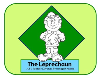 graphic about Printable Leprechaun Story identified as St. Patricks Working day Printable E book - Emergent Reader - The Leprechaun